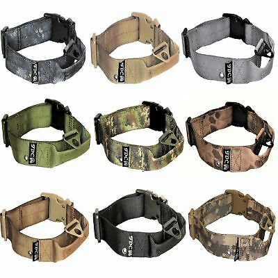 Plastic Dog Collar (Dog Tactical Collar with Handle Heavy Duty Working Training Plastic Buckle)