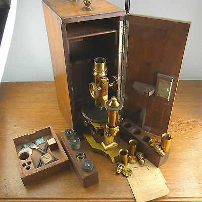 schönes altes Mikroskop  19.Jhd. Seibert in Wetzlar