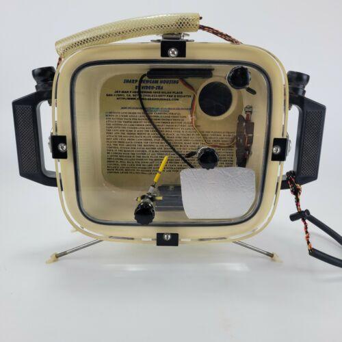 Vintage Sharp Viewcam Underwater Camera Housing by Video-Sea Made in USA