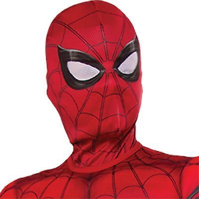 Kinder Spiderman Maske (Kinder Marvel Comic Super Hero Spiderman Stoff Maske Kostüm Zubehör RU34499)