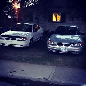 2004 And 2005 grand am (price is for package deal)