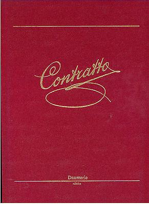 CONTRATTO DAUMIERE 1987 VINI ENOLOGIA ASTI CANELLI PIEMONTE PRIMA EDIZIONE