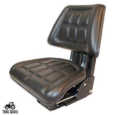 Black Massey Ferguson 451 461 471 481 491 Triback Style Tractor Suspension Seat