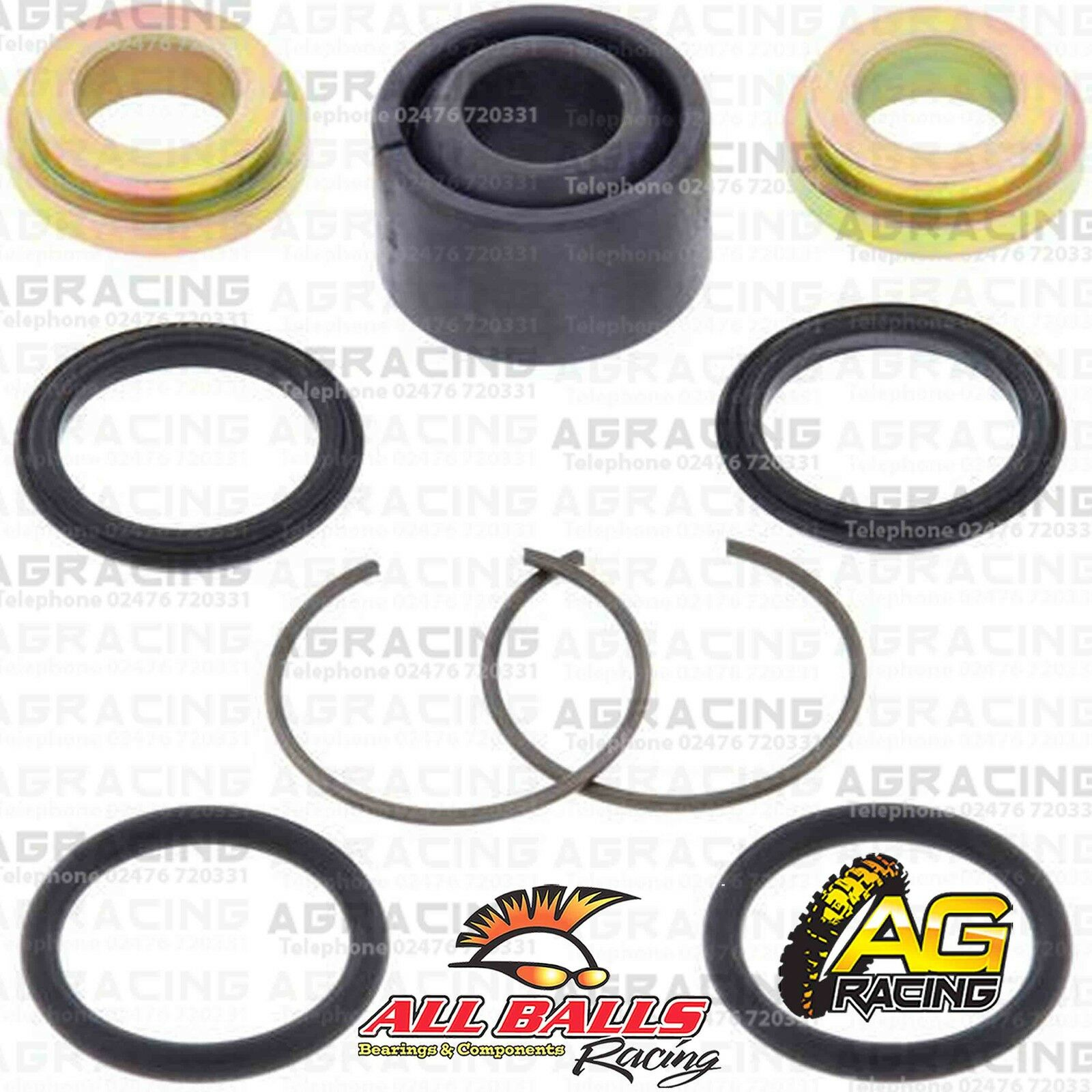 All Balls 34mm Upper Black Chain Roller For Kawasaki KX 125 1988 Motocross MX