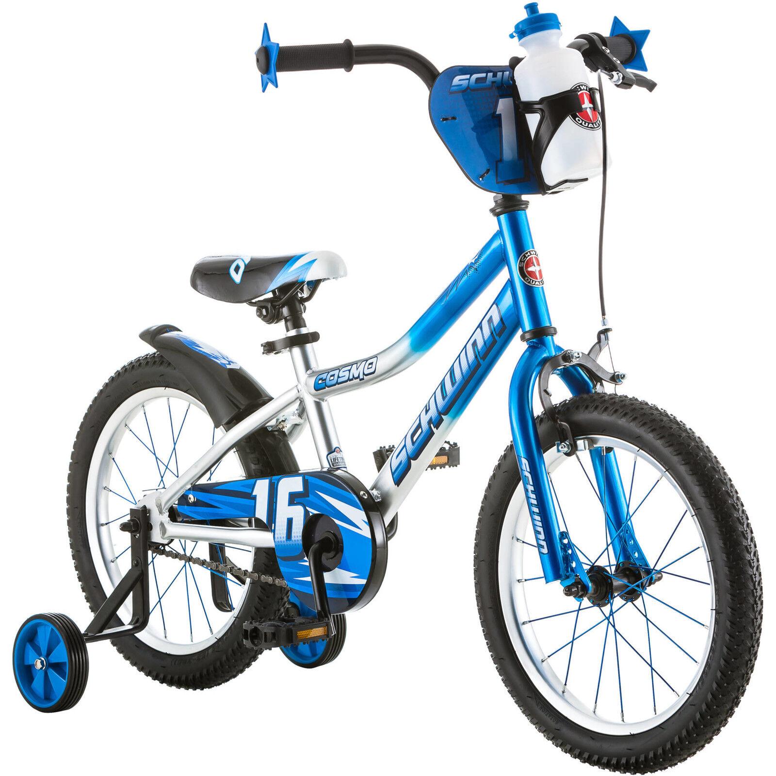 """16"""" Schwinn Cosmo Boys' Bike Blue/Gray"""