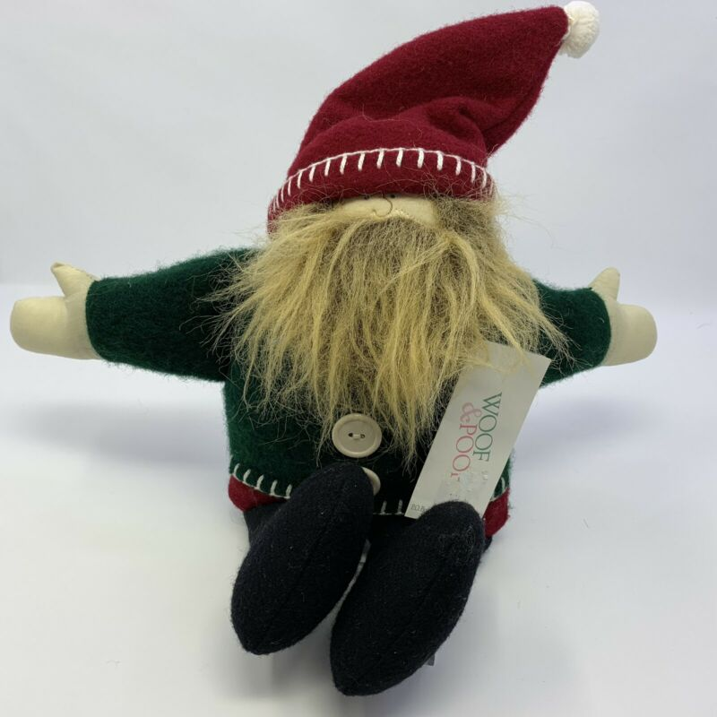 "WOOF & POOF Musical Medium Santa 17"" Rare - NWT - 1999 904021"