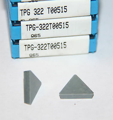 Tpg 322 T00515 Q65 Valenite 10 Inserts Factory Pack