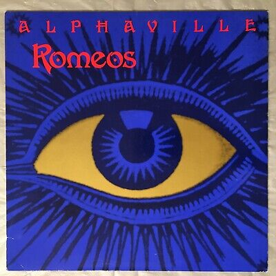 "ALPHAVILLE - Romeos - 12"" Single (Vinyl LP) 1989 German Import WEA 47069"