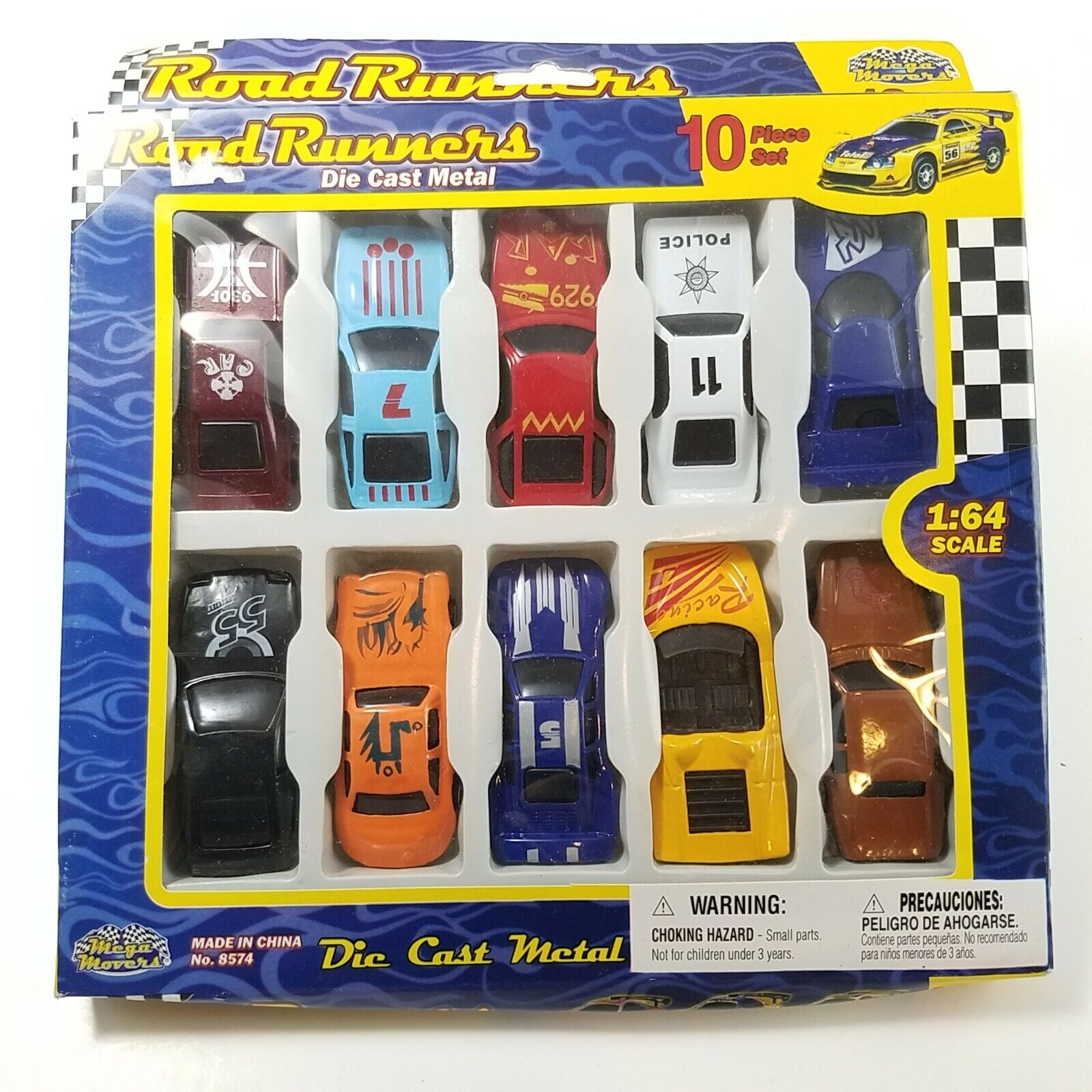 Road Runners toy car and hobby set.