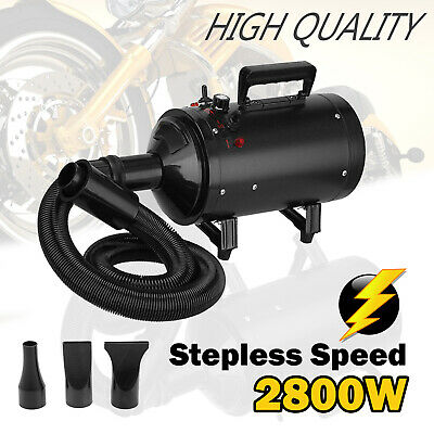 Turbo Blaster Motorbike Dryer Motorcycle Bike Car Snow Pet Blower Hosed Powerful