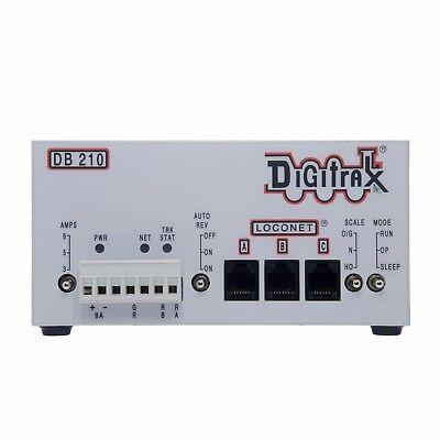 Digitrax 2018 DB210 Single 3/5/8 Amp AutoReversing DCC Loconet Booster ~ NEW!!
