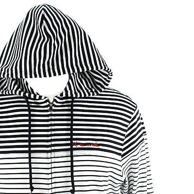 Travis Mathew Full Zip Striped Embroidered Hoodie Boys Size Large Embroidered Full Zip Hoodie