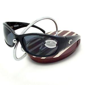 2488294ce77 NEW Costa Del Mar HAMMERHEAD Black   580 Gray Plastic 580P