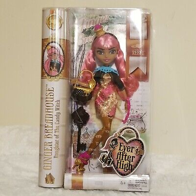 Ever After High Ginger Breadhouse Doll EAH Toys Rebel First Wave New in Box