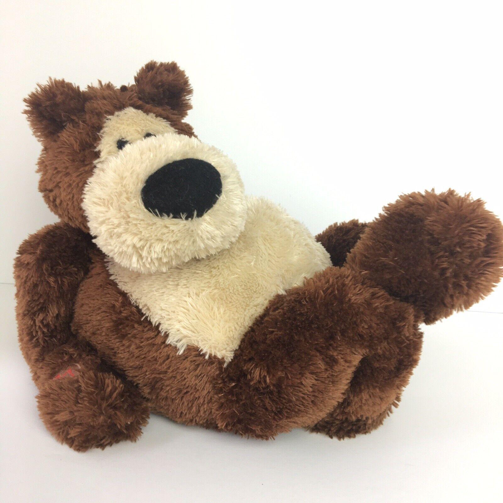 GUND FUN Plush GOOBER BEAR  ANIMATED SINGING Don't Worry Be Happy Musical?