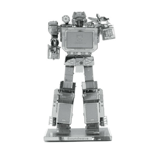 Metal Earth Transformers Soundwave Steel Model Kit NEW