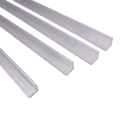 Us Stock 4pcs 10mm X 10mm X 250mm9.84 Long 2mm Thick 6063 T5 Aluminum Angle