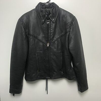 Unik Leather Apparel Motorcycle Jacket, Women