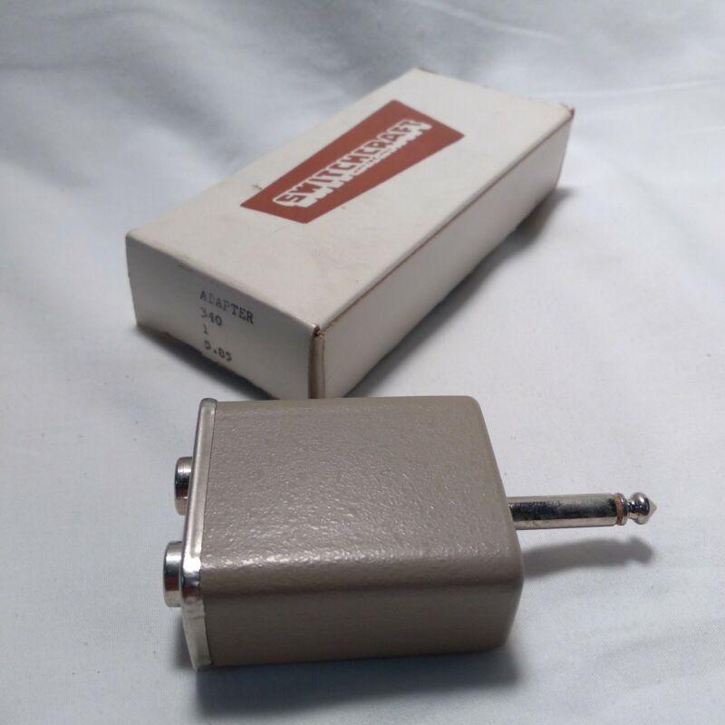 "Switchcraft Model 340 RCA Female Jack To 1/4"" Mono 1/4"" TS jacks to 1/4"" TS Plug"