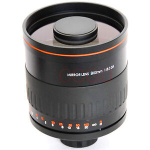 Professional 900mm f/8 Mirror Lens HD for Sony Alpha A57 A77 A37 A58 A65 A55 A35
