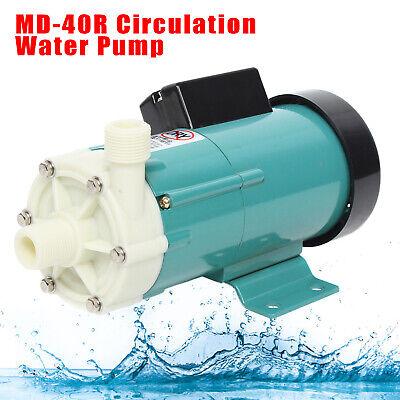 Md 40r Circulation Water Pump Chemical Industry Plastic Head Thread 110v Usa