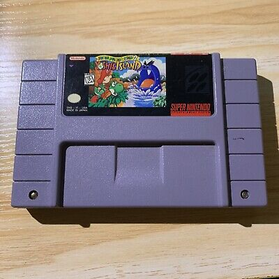 Super Mario World 2: Yoshi's Island SNES Cartridge Super Nintendo