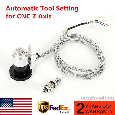 High Precision Cnc Router Probe Z Axis Auto Adjustment Tool Touch Setting Sensor