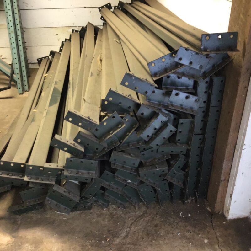 Pallet Shelving 8-foot Length; Heavy Duty; Lot of 20