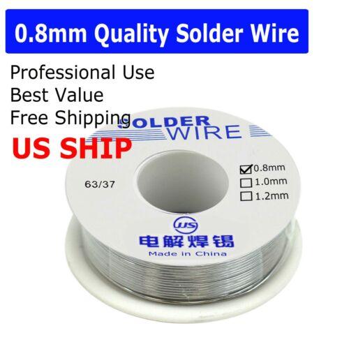 0.8mm 63/37 LEAD Free Soldering 0.8mm Rosin Core Solder Flux Welding Wire Reel