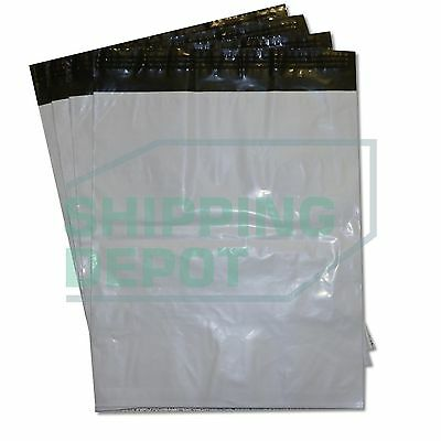 1-1000 24x24 White Poly Mailers Bag Self Seal Shipping 24 X 24 2 Mil