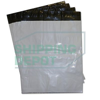 1-1000 19x24 White Poly Mailers Bag Self Seal Shipping 19 X 24 2 Mil