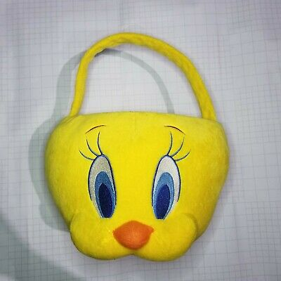 Looney tunes Yellow Tweety Bird Easter/ Halloween Basket