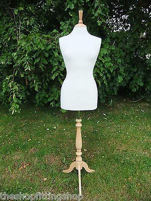 Female Dressmaking Mannequin Tailors Dummy Size 1416 Dressmakers Bust Model New
