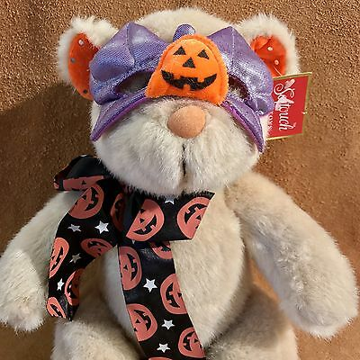 Softouch Toys 15 Inch Halloween Masked Stuffed Plush Bear