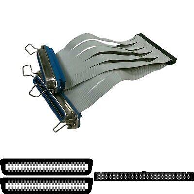 SCSI Kit 1 2 Enclosure Internal Flat Cable 50-pin 1-Drive Female 12.5