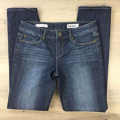 Jag Jeans Slim Boyfriend Women's Blue Denim Jeans Size 8 L30.5 (AF3)