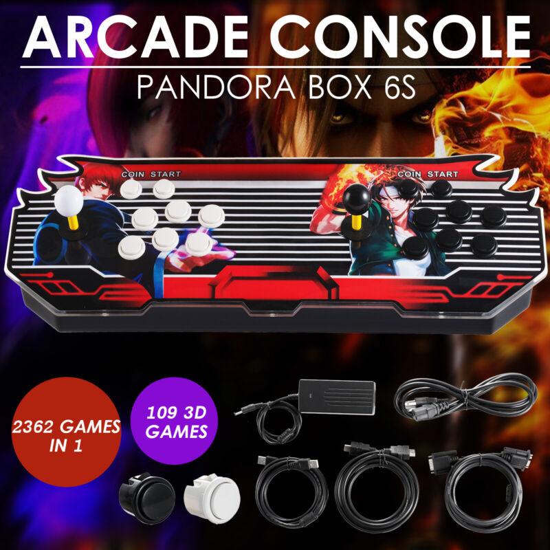 Pandora Box 7S 2362 Games in 1 Home Arcade Console 2253 2D & 109 3D Retro Video