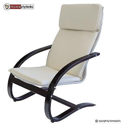 Schwingsessel Schwingstuhl natur Relaxstuhl Freischwinger Sessel Stuhl
