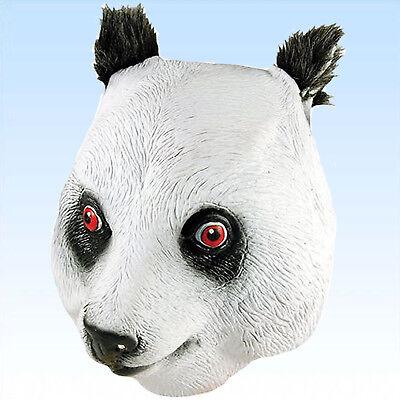 Vollmaske Panda Bär Tiermaske Pandamaske Masken Karnevalsmaske Tiermaske ()