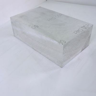 4.5 Thick 4 12 Aluminum 6061 Plate 8.125 X 13.9375 Long Sku 137540