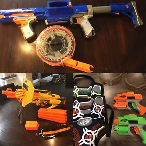 Take All Nerf Guns for $100!