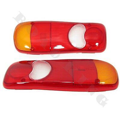 Paar Lichtscheibe Glas Heckleuchte Rückleuchte für Nissan Cabstar VW T5 Renault online kaufen