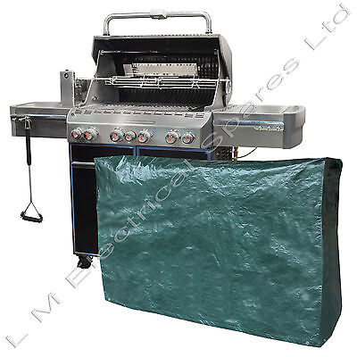 Heavy Duty Waterproof Cover For Super Grill Wagon Barbecue BBQ's 155 x 61 x 97cm