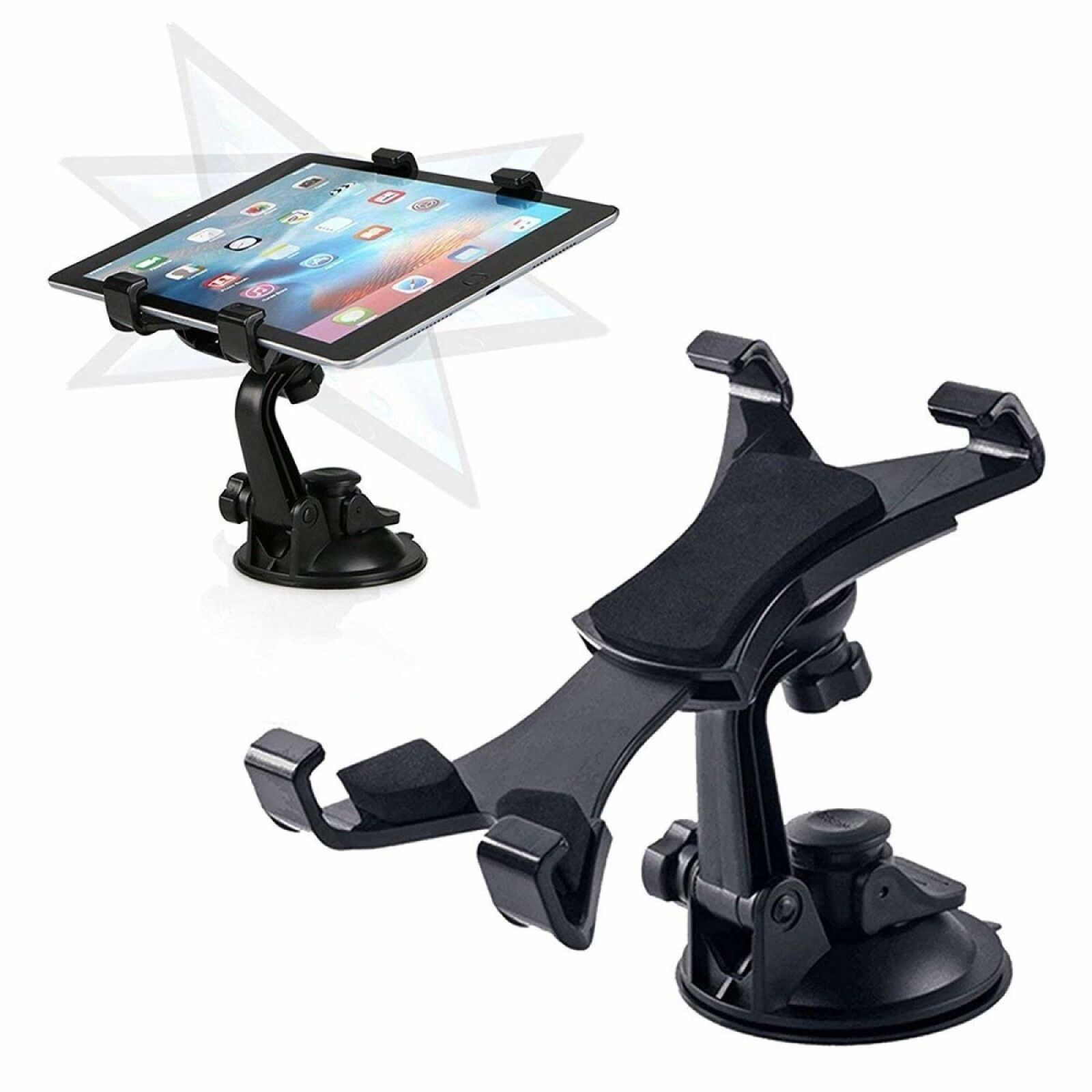 "Car Truck Vehicle Mount Stand Suction Adjustable Holder for your Tablet 7/""-10.1/"""