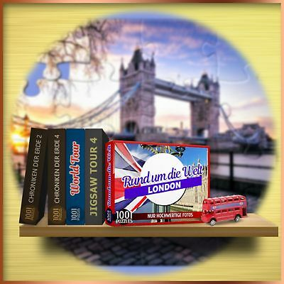 ⭐️ 1001 Puzzles - Rund um die Welt - London - PC / Windows - BLITZVERSAND