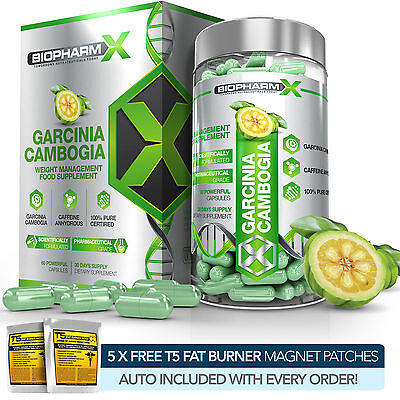 PURE GARCINIA CAMBOGIA -STRONGEST LEGAL SLIMMING /DIET & WEIGHT LOSS DETOX PILLS