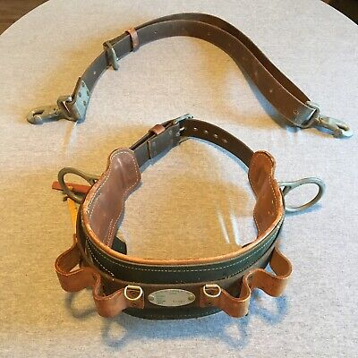 Klein Tools Climbing Belt Set Size 42-50 Includes Pole Strap Made In Usa
