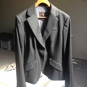 COUNTRY ROAD BLACK WOMENS SUIT JACKET SIZE 14 South Morang Whittlesea Area Preview