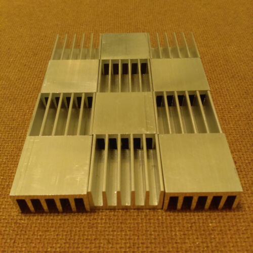 1 inch Heat Sink Aluminum (1 x 1 x 0.5) inches. Low Thermal Resistance.12 qty