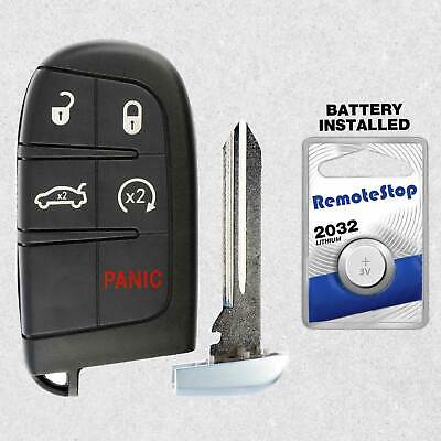 For 2015 2016 2017 2018 Dodge Charger Challenger Hellcat Smart Remote Key Fob